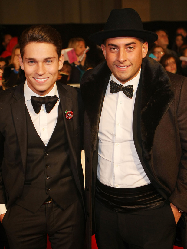 Joey Essex, James Argent The Daily Mirror Pride of Britain Awards 2012 held at Grosvenor House hotel - Arrivals London, England - 29.10.12 Mandatory Credit: WENN.com