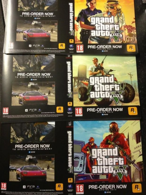 GTA 5 GAME image Spring 2013
