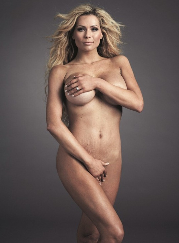 Nicola McLean does naked photoshoot for Now Magazine