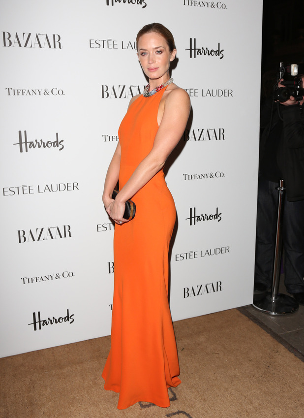 Harper&#39;s Bazaar Woman of the Year Awards 2012: Emily Blunt 
