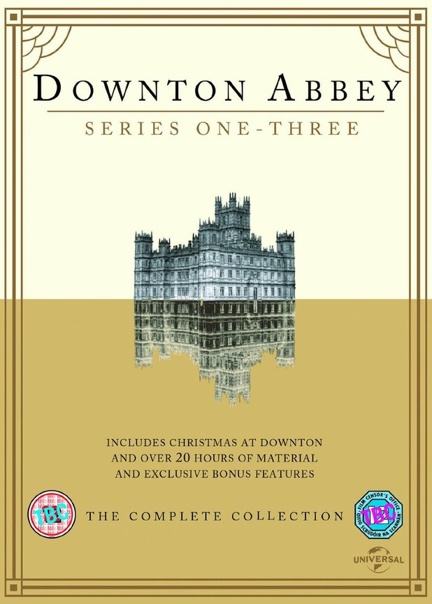 Downton Abbey S1-3 and Xmas Special DVD