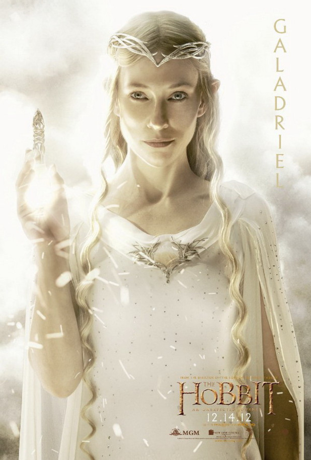 &#39;The Hobbit&#39; character posters: Galadriel