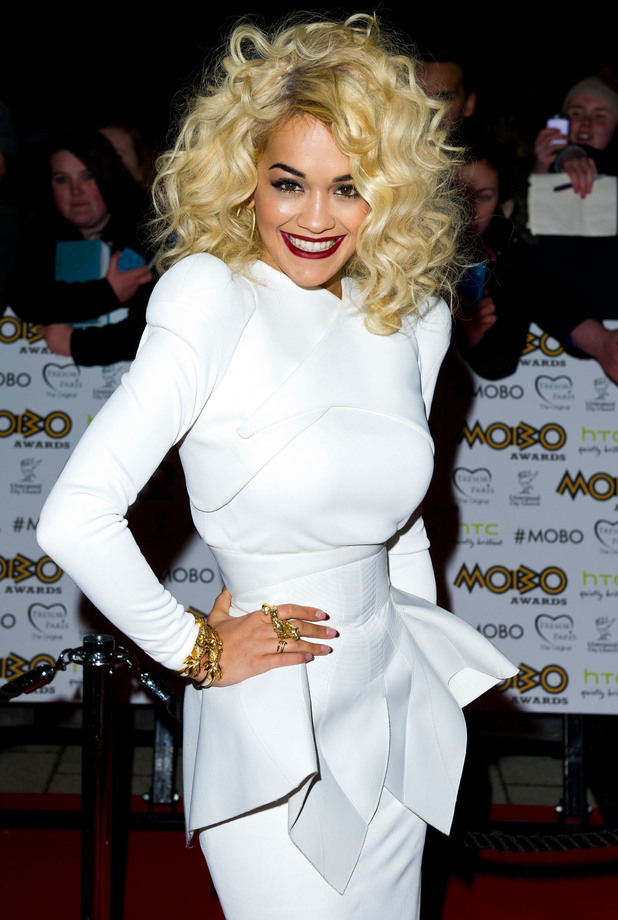 The MOBO Awards 2012: Rita Ora