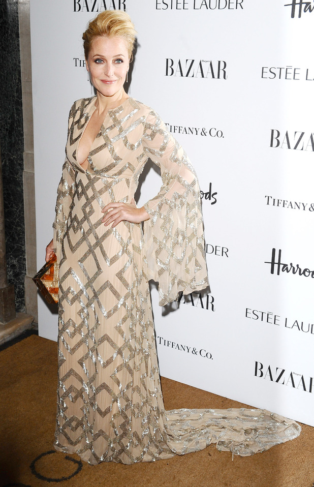Harper's Bazaar Woman of the Year Awards 2012: Gillian Anderson