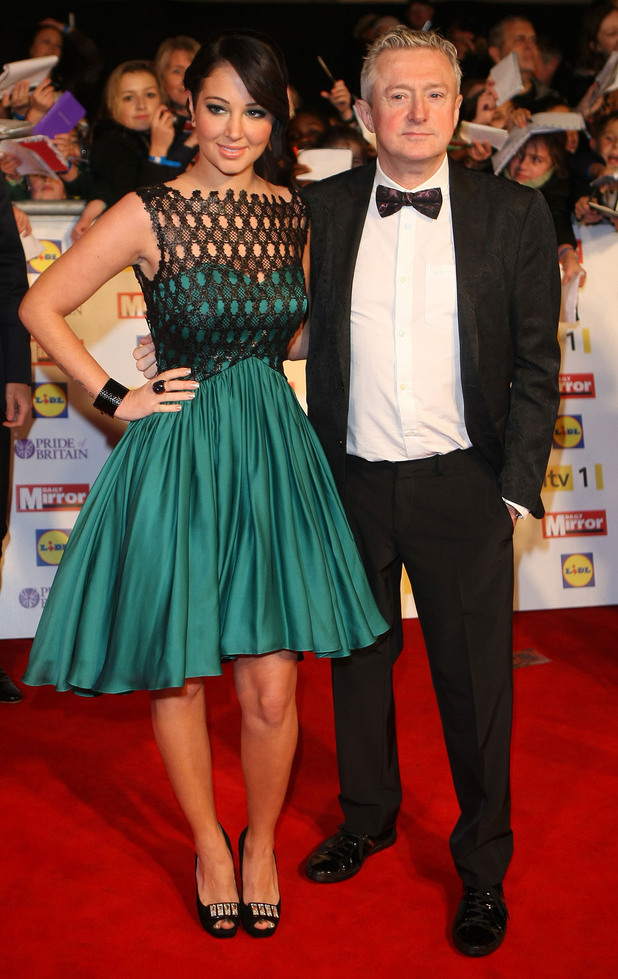Tulisa Contostavlos, Louis Walsh The Daily Mirror Pride of Britain Awards 2012 held at Grosvenor House hotel - Arrivals London, England - 29.10.12 Mandatory Credit: WENN.com