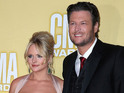 Blake Shelton and Miranda Lambert take to Twitter to laugh off the reports.