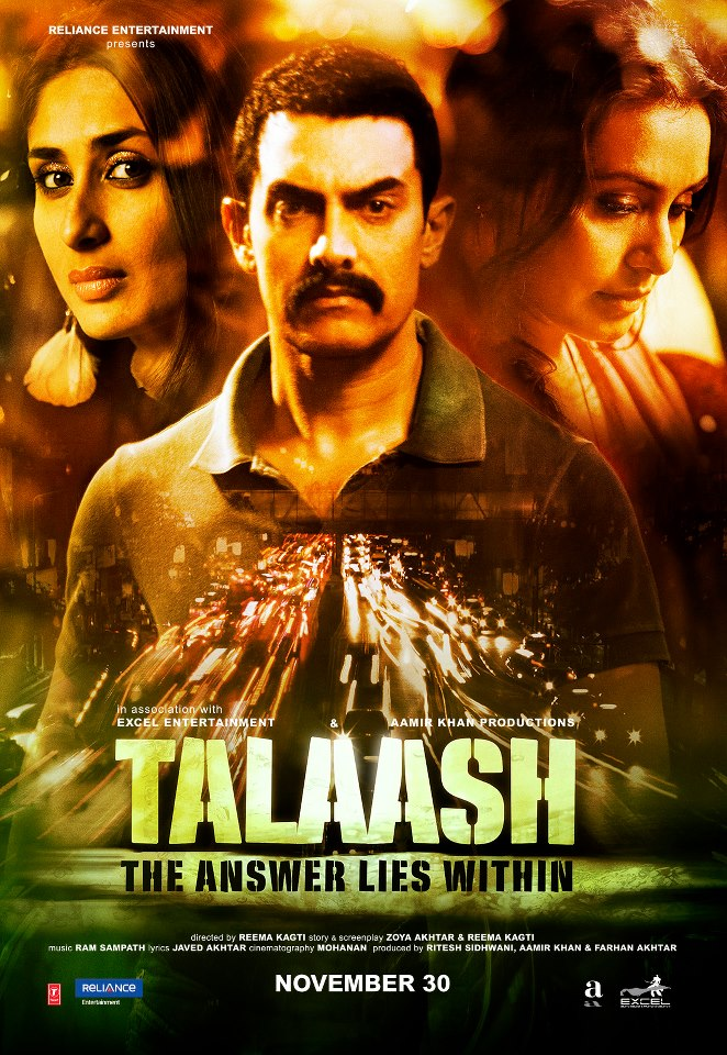 &#39;Talaash&#39; Bollywood movie poster