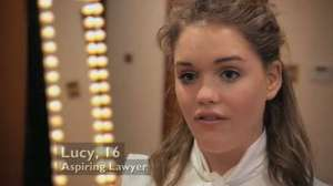 Young Apprentice episode two - watch clips: Lucy's team discuss their cookery book spelling mistakes
