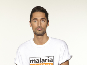 Hugo Taylor supports Malaria No More UK