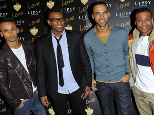 JLS, at the Lipsy London Love launch party at Gilgamesh. London, England