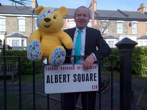 Lord Sugar at EastEnders