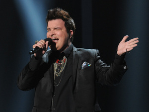 The X Factor USA: Jason Brock in the sing-off