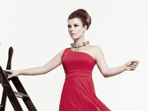 Coleen Rooney models her latest collection for Littlewoods