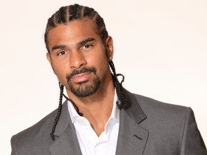 David Haye for &#39; Malaria No More UK&#39;