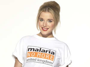 Helen Flanagan for ' Malaria No More UK'