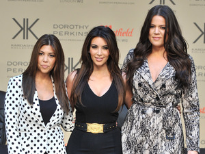The Kardashian Sisters launch their Kardashian Kollection at Westfield London.