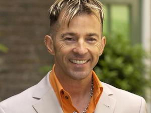 80's pop star Limahl poses for photographers at Hush in central London. Limahl is joining fellow pop stars from the 80's for this year's Here and Now Tour.