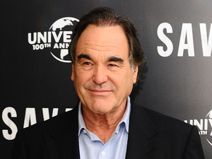 Oliver Stone attending a photocall for new film Savages at the Mandarin Hotel, London. Picture date: Wednesday September 19, 2012.