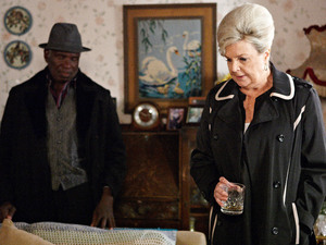 Patrick can tell something is wrong with Cora.