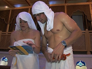 """The Amazing Race - """"Get On Your Sexy"""" (04/11/2012): Lexi and Trey"""