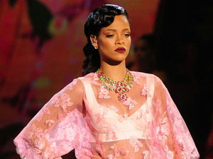 Rihanna Performs at the Victoria's Secret Fashion Show at the Lexington Avenue Armory New York City, USA