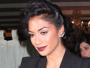 Nicole Scherzinger at C London restaurant after the X Factor show. London, England