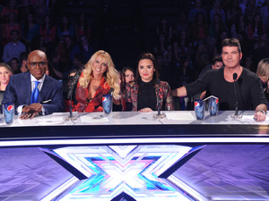 The X Factor USA, Nov 7 - Judges Britney Spears, LA Reid, Simon Cowell and Demi Lovato