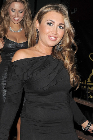 Lauren Goodger Lipsy Love Fragrance - Departures. London, England - 06.11.12 Mandatory Credit: Will Alexander/WENN.com