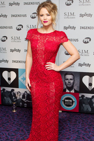 Kimberley Walsh, 2012 Music Industry Trust Awards