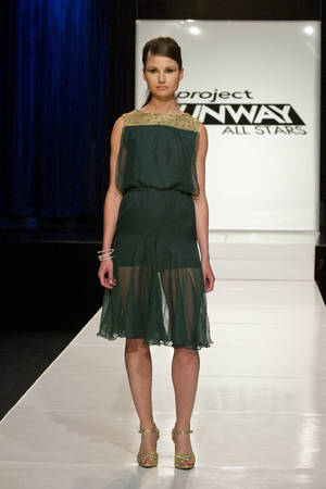 Project Runway All Stars: Ivy Higa's design
