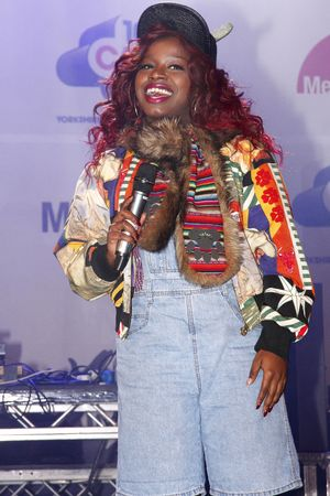 Misha B, Christmas Light Switch-on Charity Concert, Meadowhall