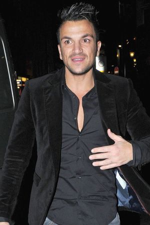 Celebrities attend an ITV2 dinner party at the W Hotel in London: Peter Andre