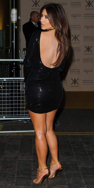Kim Kardashian at the Kardashian Kollection for Dorothy Perkins launch party at Aqua - Arrivals. London, England - 08.11.12 Mandatory Credit: WENN.com