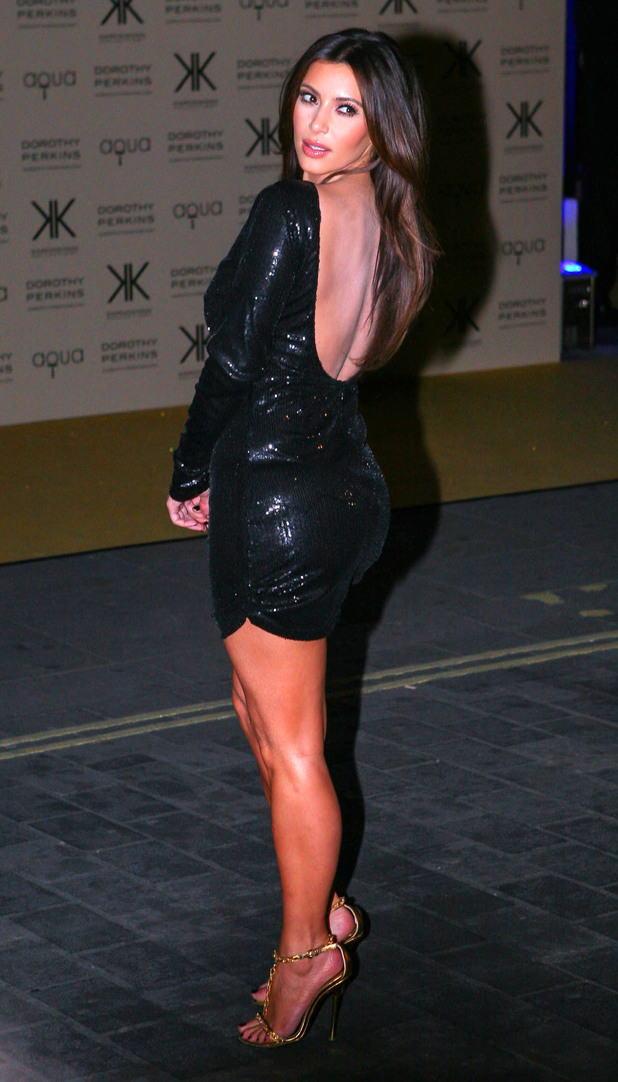 Kardashian Kollection for Dorothy Perkins launch party at Aqua: Kim Kardashian
