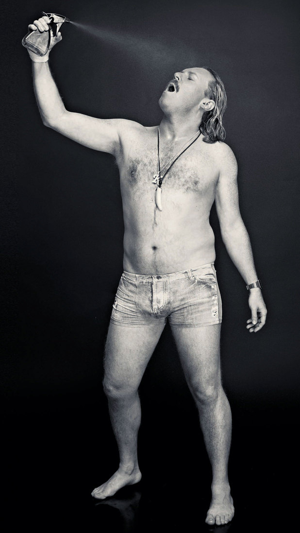 Keith Lemon photo shoot for Now Magazine