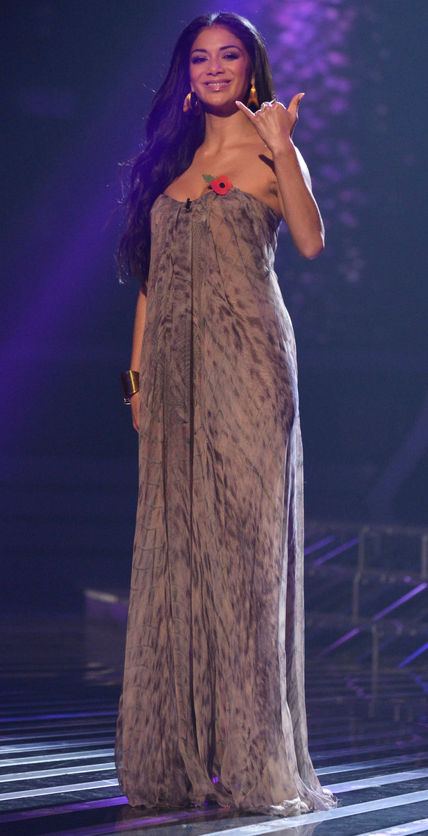 The X Factor Results Show: Nicole