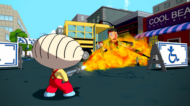 Family Guy: Back to the Multiverse - screenshots