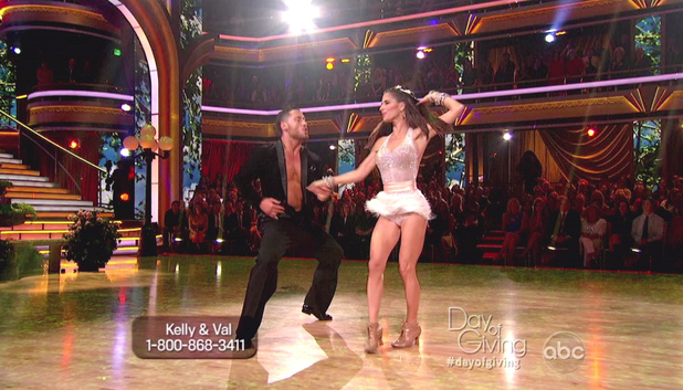 Dancing With The Stars S15E13: Val Chmerkovskiy and Kelly Monaco