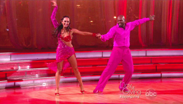 Dancing With The Stars S15E13: Cheryl Burke and Emmitt Smith