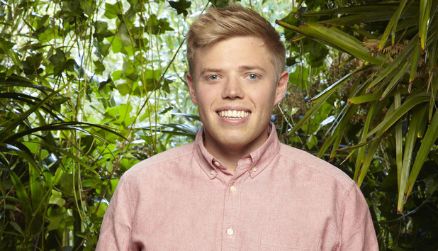 I'm A Celebrity ITV2 presenter Rob Beckett
