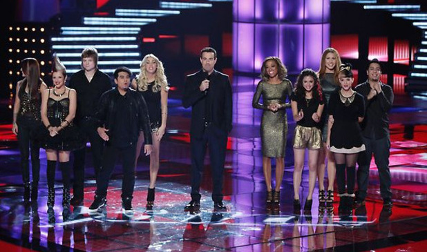 The Voice Live Playoffs Part 1