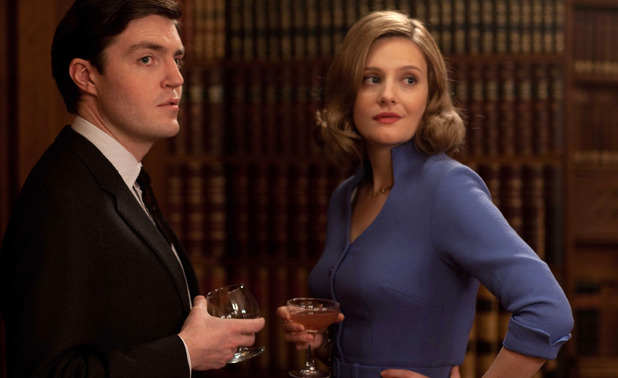 The Hour: Bill Kendall (TOM BURKE) , Bel Rowley (ROMOLA GARAI)