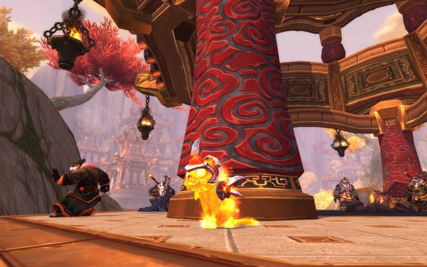 'World of Warcraft' pet: Cinder Kitten