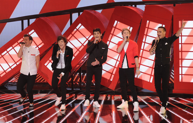 One Direction perform 'Live While We're Young' on The X Factor USA