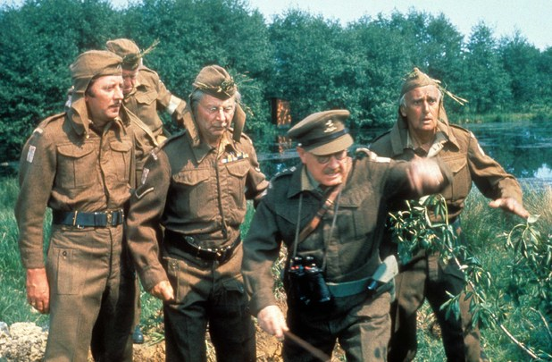 Dad&#39;s Army , James Beck, Arnold Ridley, Clive Dunn, Arthur Lowe, John Laurie