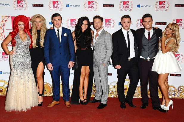 MTV Europe Music Awards: The cast of Geordie Shore