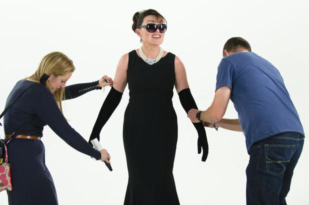 Lorraine Kelly, Audrey Hepburn