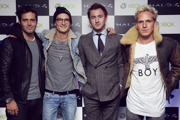 The cast of 'Made in Chelsea' at the launch of 'Halo 4'