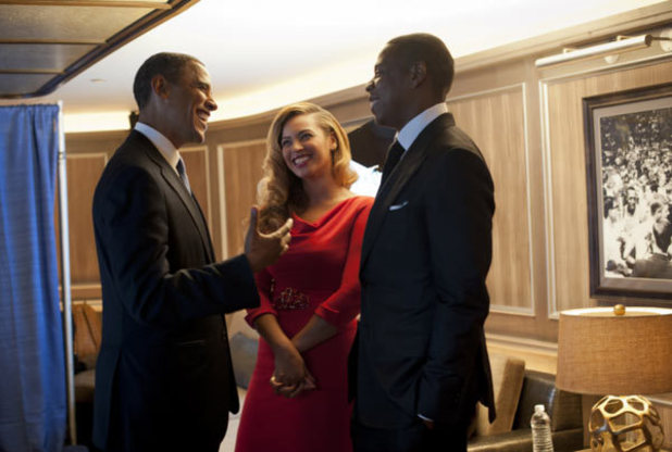 Barack Obama, Jay-Z, Beyoncé