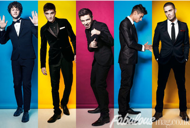 The Wanted in Fabulous magazine